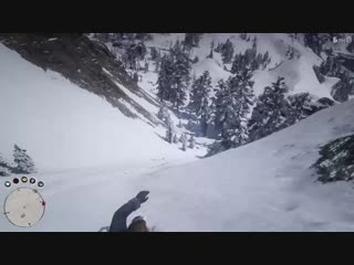 Don't try to call your horse on steep terrain. Red Dead Redemption 2