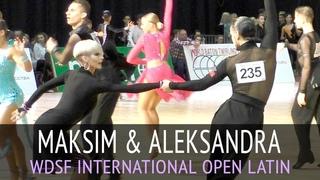 Maksim Pavlov & Aleksandra Kuznetsova | Jive | WDSF International Open Latin - 2018 CSKA Cup