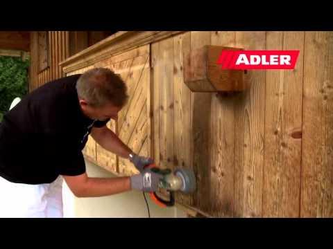 Обновление деревянных фасадов, балконов, заборов, садовых домиков красками и лазурями ADLER