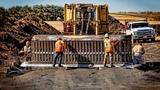 Amazing Dangerous Biggest Bulldozer Power Dozer Construct Machinery Fastest Skill Modern Technology