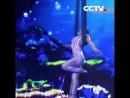 Акробатическое выступление «русалка»