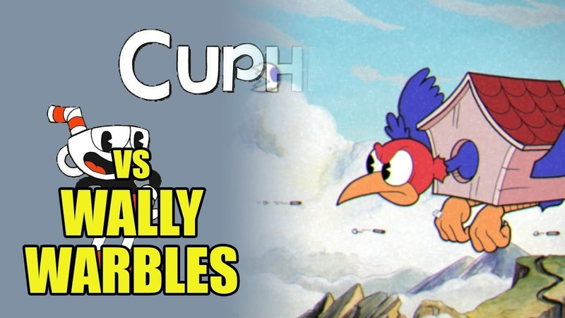 Cuphead - Wally Warbles - Уолли Уорблс [Boss Battle, A Grade, No Damage]