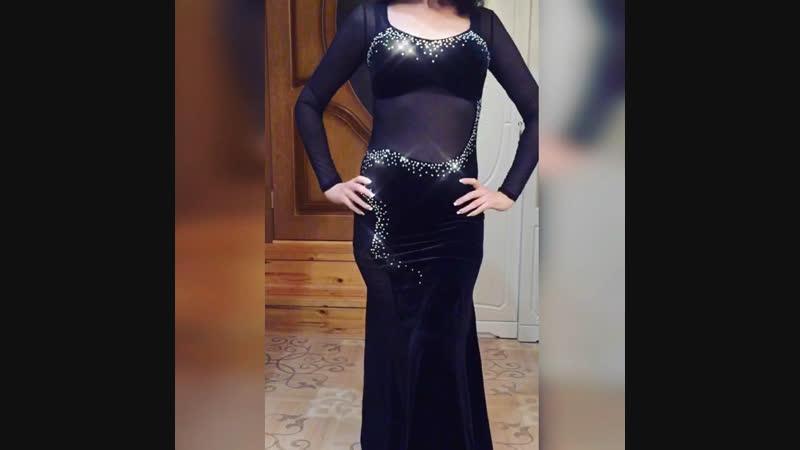Черное платье ✨