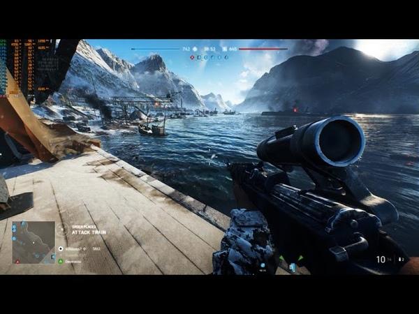 Battlefield V CLOSED ALPHA || PC Benchmark 1440p ULTRA || GTX 1080Ti -- i7 8700K