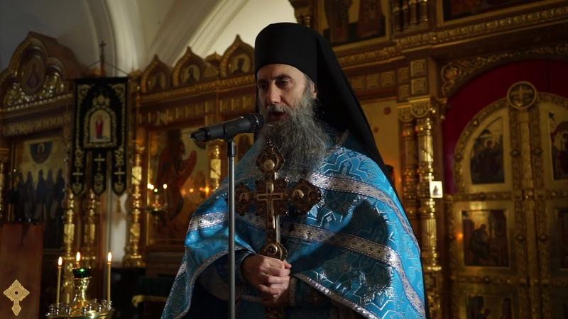 Проповедь иеромонаха Наума на Сретение Господне