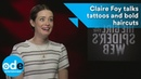 Claire Foy Talks Tattoos And Bold Haircuts