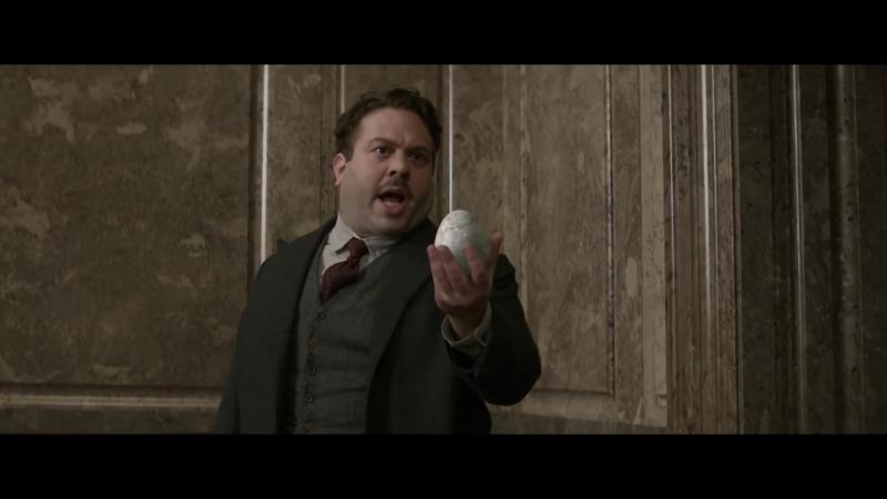 Нюхлер пытается ограбить банк Фантастические твари и где они обитают