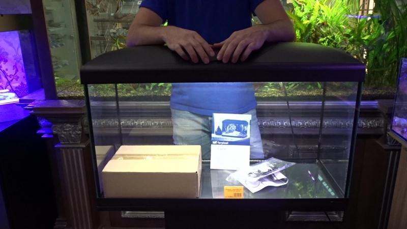 Комплект аквариум тумба Ferplast Capri 80 (100 литров) – 19900 руб.!
