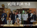 VOTE FOR 11 3