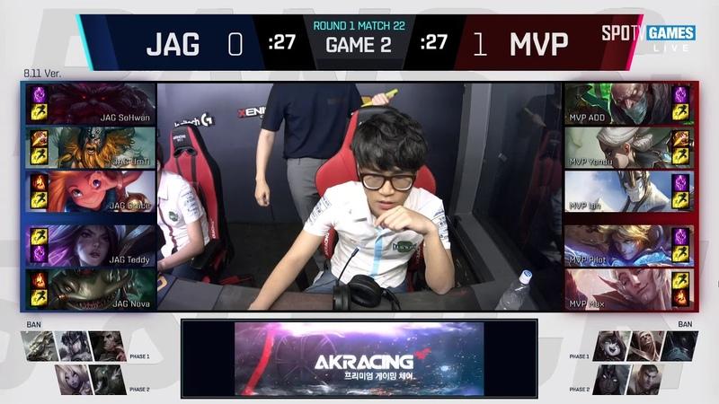 JAG vs. MVP - Игра 2 Неделя 2 | LCK Summer 2018 Split