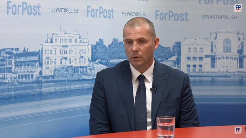 Председатель Севастопольской ассоциации ветеранов спецподразделений Альфа Дмитрий Иванцов