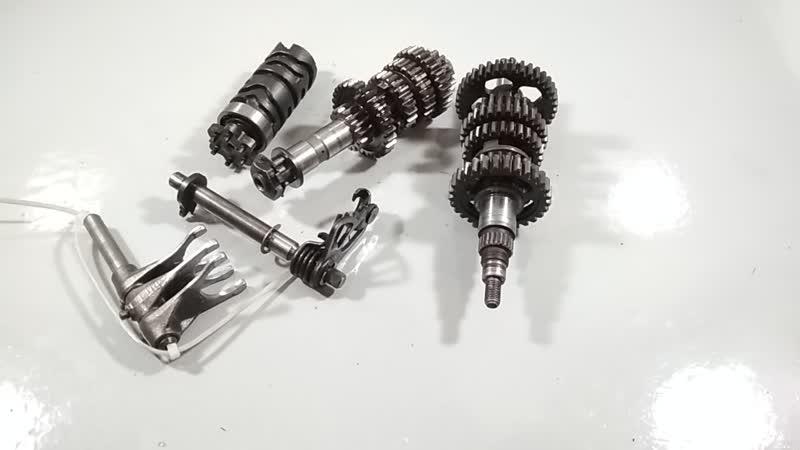 Моторазборка - КПП Yamaha ttr 250 raid