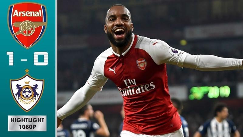 Arsenal vs Qarabag 1-0 Highlights Goals (13/12/2018)