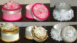 Tape Roll Gift box tutorialvalentine day gift box recycle ideaBest out of waste-diy