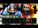 Robotech Invasion gameplay walkthrough Part 1 PS2 XBOX