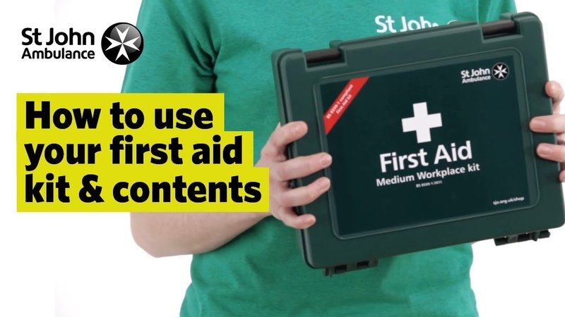 How to Use your First Aid Kit Contents - First Aid Training - St John Ambulance