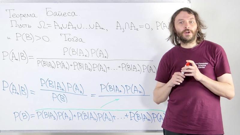 03 - Теория вероятностей. Теорема Байеса. Независимые события