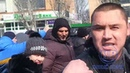 Нелегальные таксисты напали на журналиста в Геническе