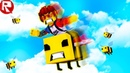 РОБЛОКС ПОЙМАЛ САМУЮ БОЛЬШУЮ ПЧЕЛУ В ROBLOX симулятор пчёл Детский Игровой Летсплей как мультик