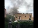 Пожар в столичном детском саду