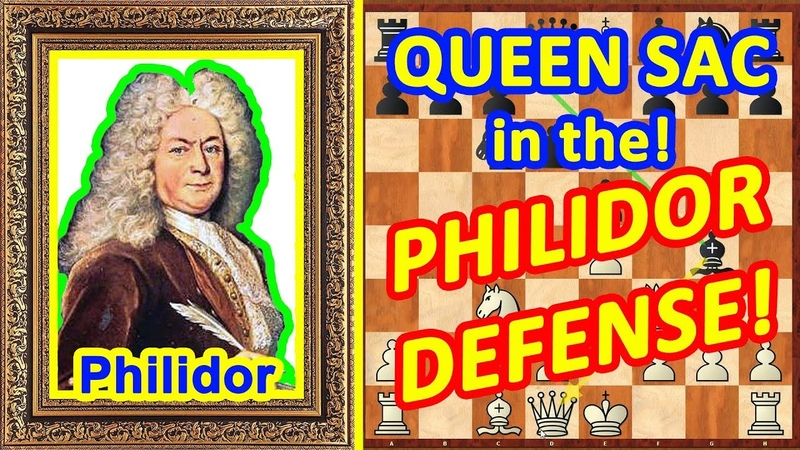 Chess TRAPS in the Philidor defense opening! ♔ Legal trap ♕ QUEEN Sac!
