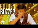 CRAZY MAGICIAN gets GOLDEN BUZZER Asia's Got Talent 2017 Got Talent Global
