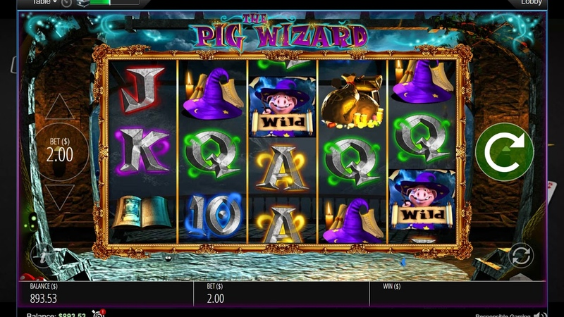 Слот THE PIG WIZARD на ПокерСтарс!Slot Machine THE PIG WIZARD on PokerStars