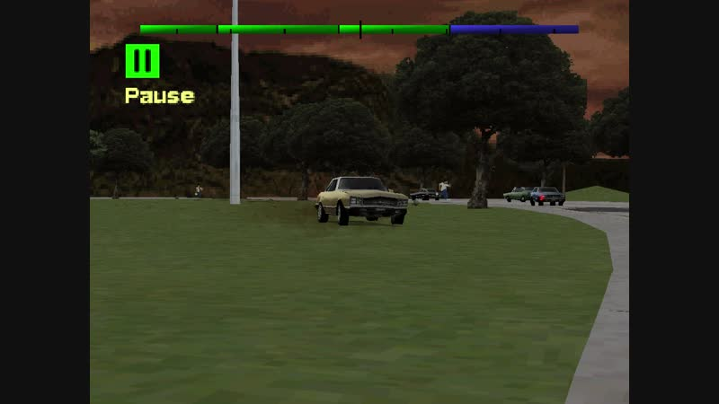 Driver 2 Get to The Monkey Island in Rio Survival Mode at Dusk