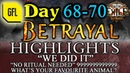 Path of Exile 3.5: BETRAYAL DAY 68 - 70 Highlights WE DID IT, NO RITUALS NEEDED, 9
