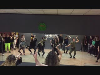 Just dance intensive 2019 / female dancehall / katerina tro