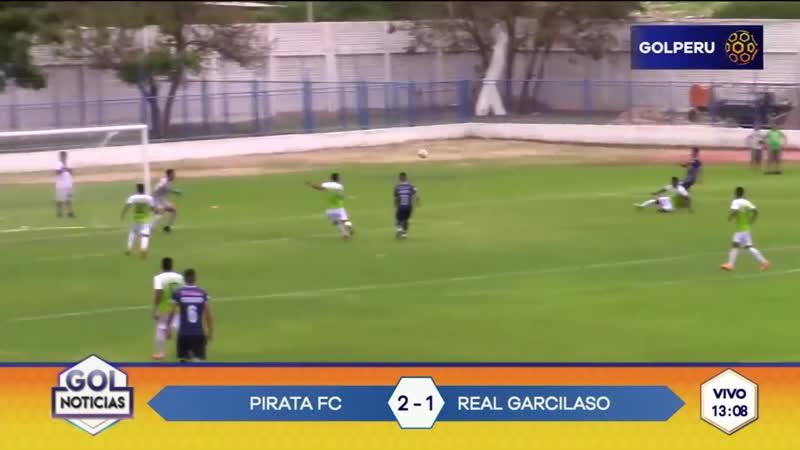 Pirata FC ganó 2-1 a Real Garcilaso por fecha 1 de Liga 1