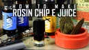 How To Make Cannabis e Juice with Rosin Chips (ethyl alcohol wax liquidizer): Cannabasics 97