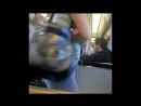 แอบถ่ายฝรั่งก้นงอนสวยบนรถไฟฟ้า MRT