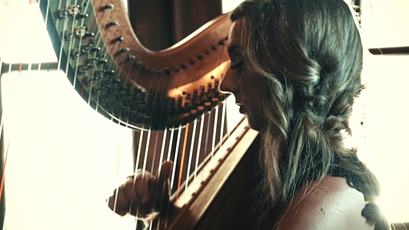 May It Be by Enya from Lord of the Rings performed by Toronto Wedding Harpist