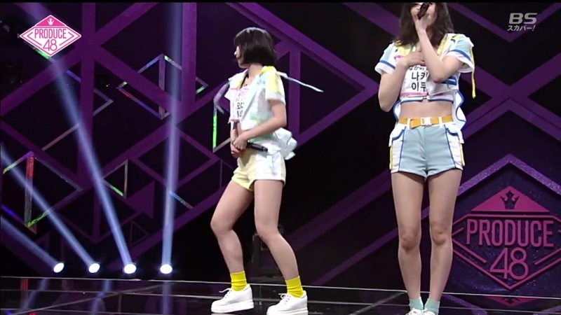 180615 PRODUCE48 01 BS Sky Perfect TV Jap Sub