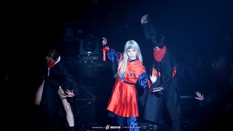 M 'TVXQ Medley VCR Perfomance Moon Movie' 190419 20 MAMAMOO 4season f w Concert