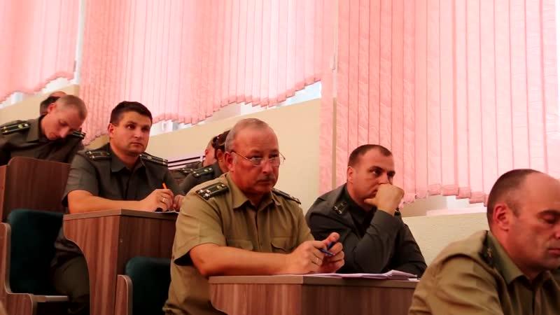 Офицерское собрание института пограничной слубы Республики Беларусь