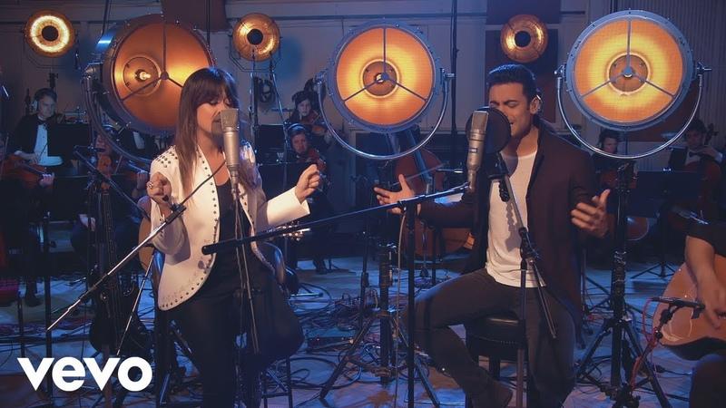 Carlos Rivera - Te Amo Hoy (En Vivo) (Sessions recorded at Abbey Road) ft. Vanesa Martín