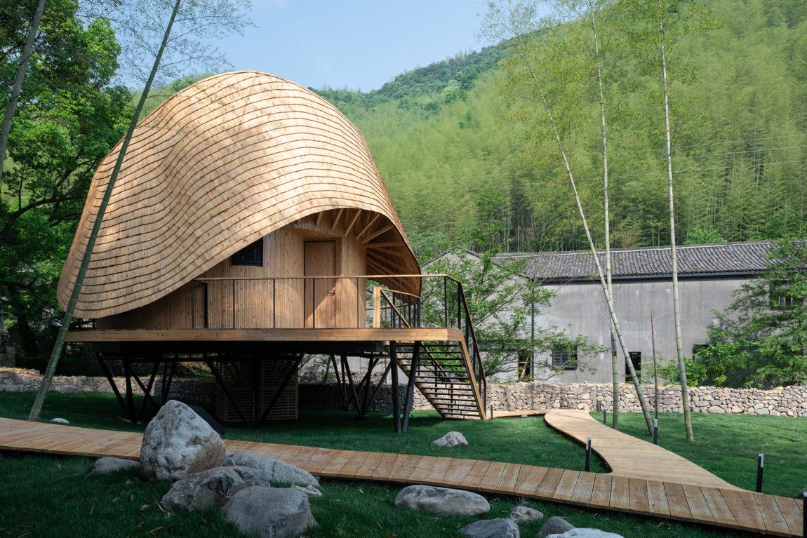 Частный дом в Китае