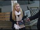 На улице Кирова в Ярославле бесплатно раздавали литературу