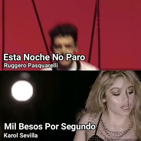 "➡BELA  KAROL Y RUGGE 🦋 on Instagram: ""Es mucha coincidencia no? Ahre 😏😏😏🔥🔥🔥 Cc: @violetta.forever.luna"""