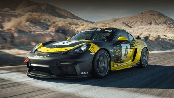 Porsche 718 Cayman GT4 Clubsport Новая модификация Каймана основана на купе с товарным индексом 718 (внутренний заводской код 982). А оно хотя в основе и сохраняет некоторые элементы предка (то