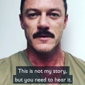 @thereallukeevans on Instagram This is not my story. But if I didn't tell you, you wouldn't hear it. Lets give children whove been through hell...