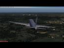 Посадка А320 в Домодедово FSX. IATAMEICAO:UUDD
