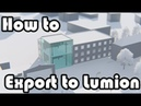 Learn Revit in 5 minutes: Export to lumion 12