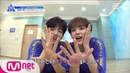 PRODUCE X 101 [10회] '쉴 때도 이뻐이뻐♥' 송이 직캠 놓치_지마! (feat.형이 왜 거기서 나와…?) I 크레파스 팀 190705 EP.10
