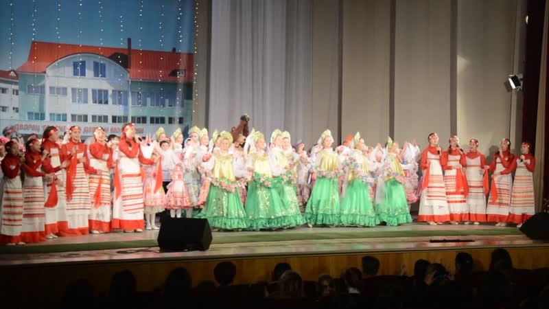 Воталинка на сцене ДК им В И Ленина 08 11 2018
