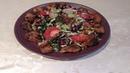 Նռան սոուսով աղցան Салат с гранатовым соусом Salad with pomegranate sauce