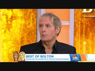 Michael Bolton Talks Working With Lady Gaga (28 January 2019)