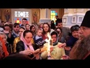 Встреча благодатного огня в Вознесенском кафедральном соборе Алма-Аты